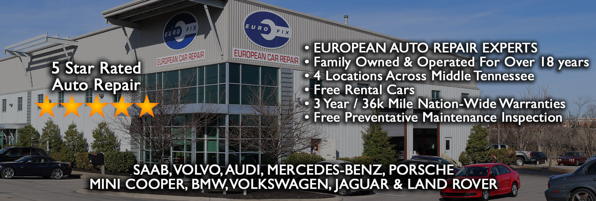 European Auto Repair Nashville Franklin Murfreesboro Belle Meade